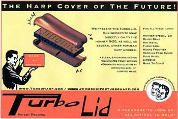 Turbo Lid Harmonica Cover